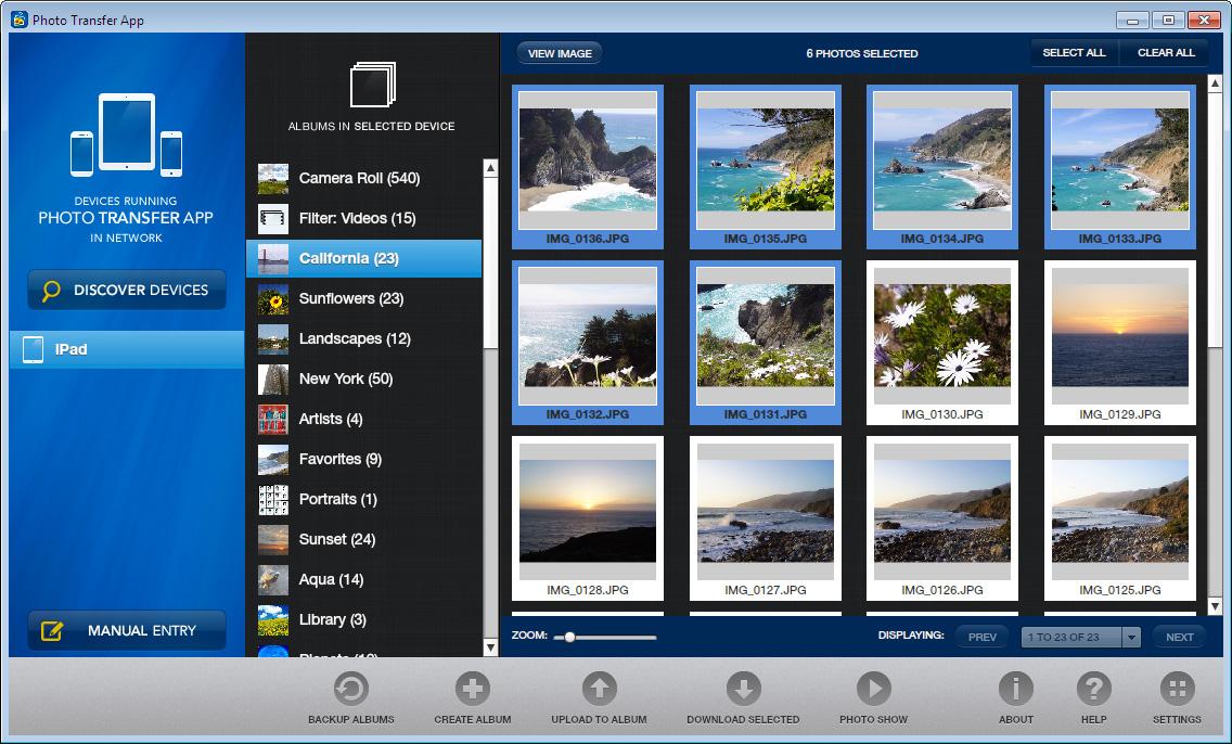 Full Photo Transfer App screenshot