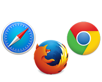 Use any web browser to transfer photos
