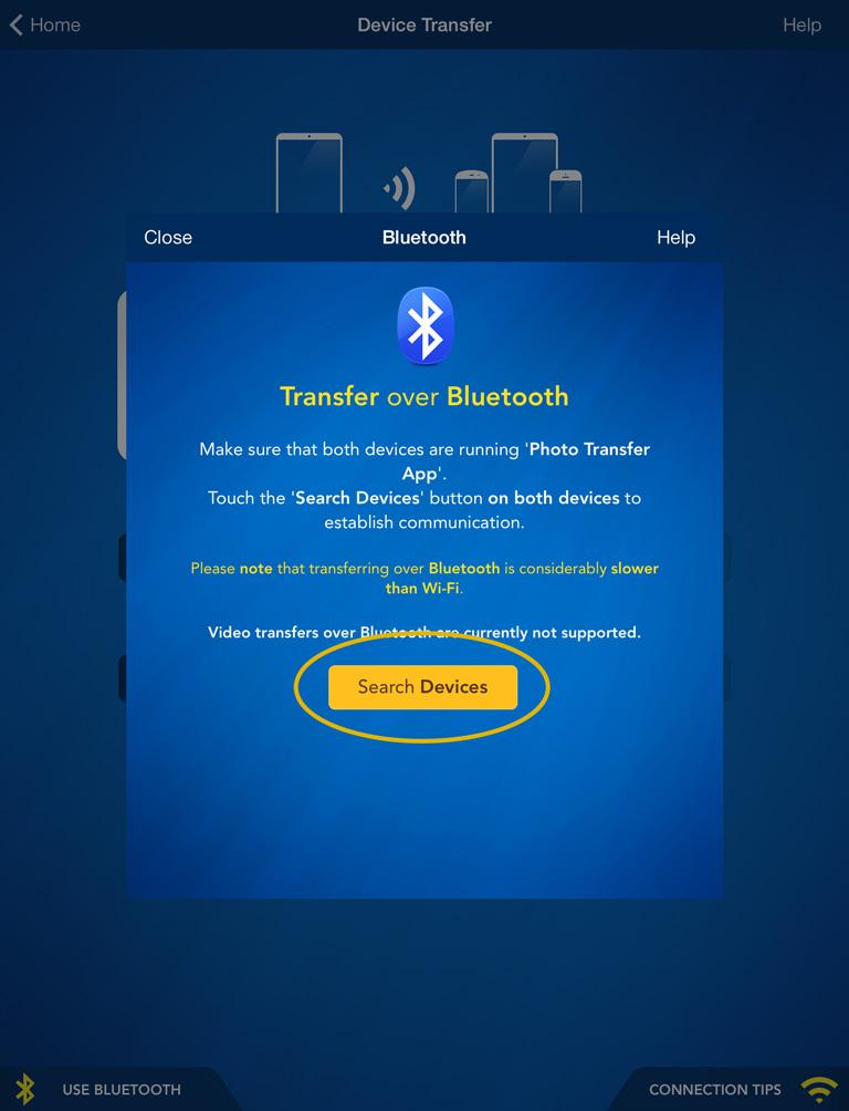 Photo Transfer App | iPad Help - Transfer from iDevice to