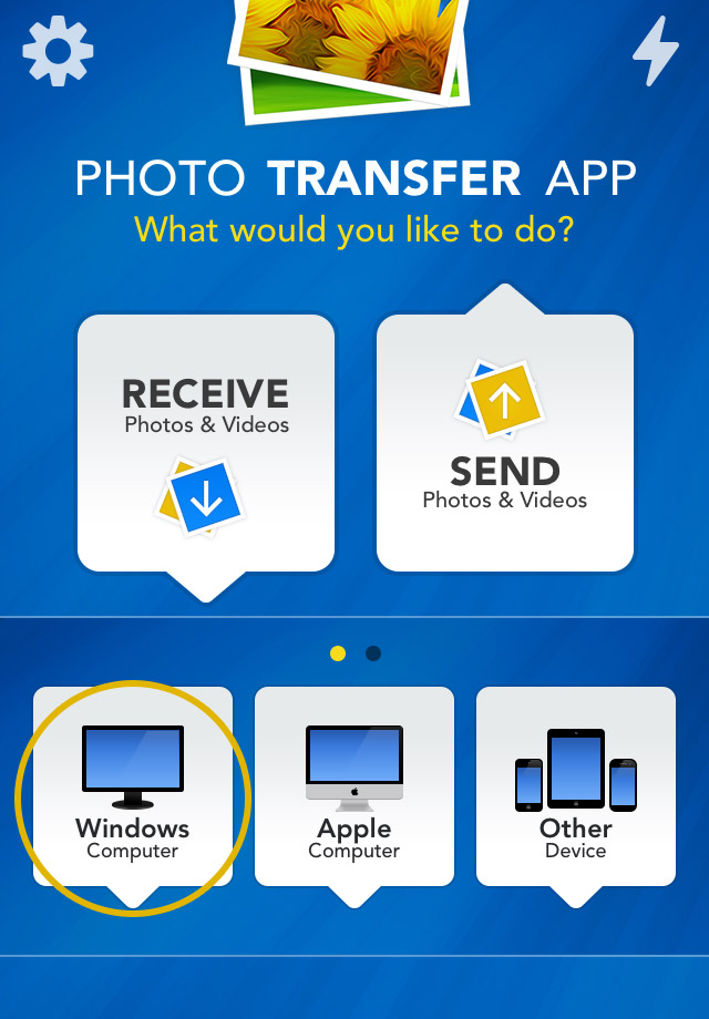 Photo Transfer App | iPhone Help Pages - Transfer from your PC to ...