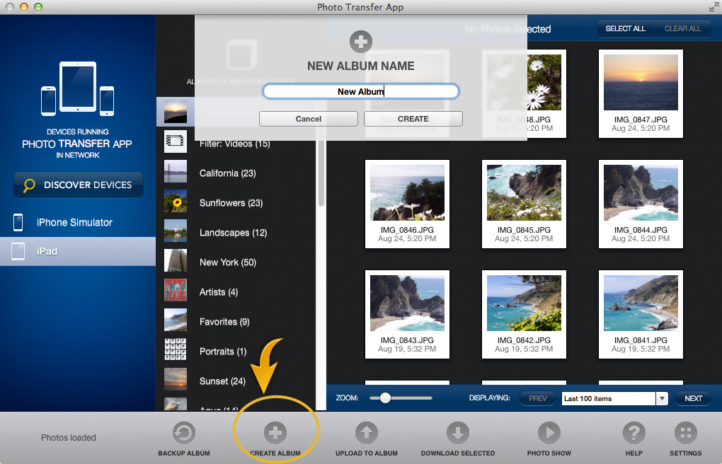 how to put photos from iphone to computer mac
